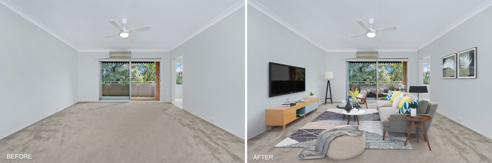 Living with Virtual Staging